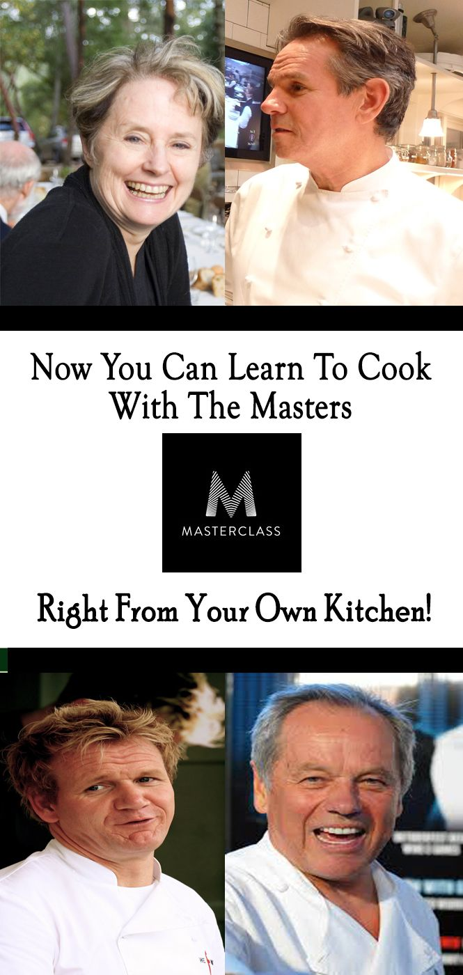 It's so affordable!! Gordan Ramsey, Alice Waters, Wolfgang Puck, & Thomas Keller show their kitchen tricks and techniques with you! The All-Access Pass includes over 300 lessons across 20 classes, and gives you early access to all new classes.