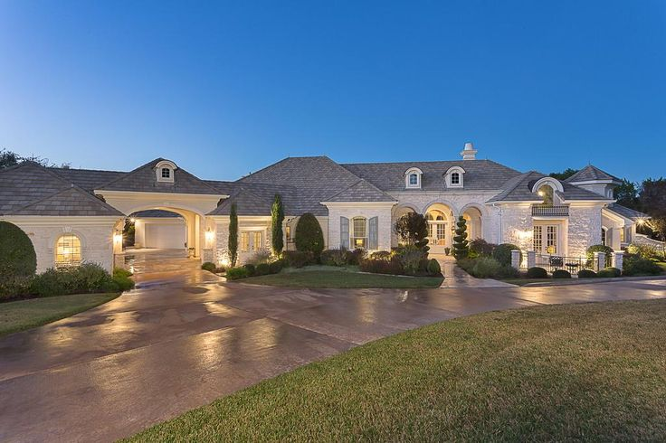 This French traditional single story home is perfectly sited on a 1.83 acre lakefront lot in the La Isla section of Angel Bay. The home is comprised of approximately 5,500 elegant square feet and includes 5 bedrooms, 4.5 baths and 3 living areas. A private electronic gate welcomes you to the property. The custom bronze scrolled gate is an integral part of the security system that also includes a security camera, keypad and intercom at the gate entrance. Visitors and guests are easily ...