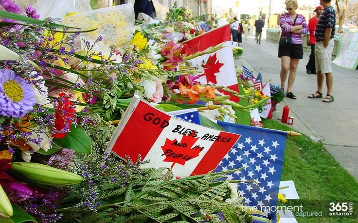 The outpouring of goodwill from Canadians to America in 2001 after 9-11, documented here.