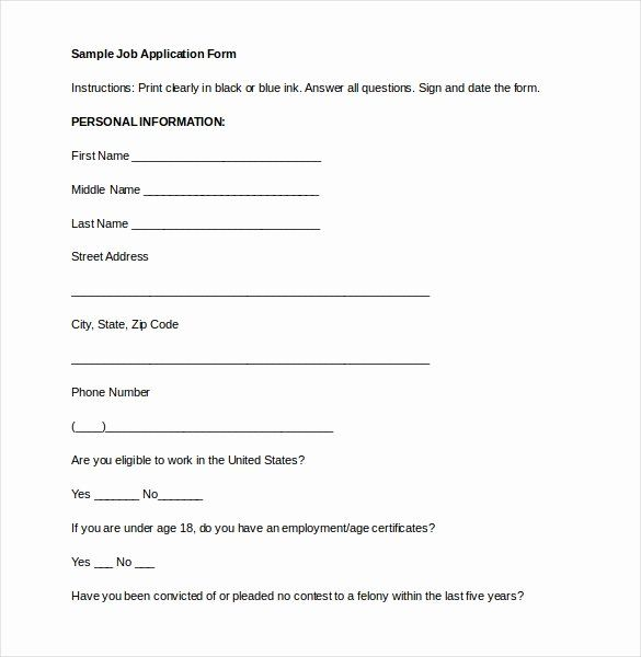 Entry Form Template Word Beautiful Job Application Template 19 Examples In Pdf Word Employment Application Job Application Template Job Application