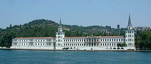 Kuleli Military High Schoolis the oldest military high school in Turkey, located in Çengelköy, Istanbul, on the Asian shore of the Bosphorus strait. It was founded on September 21, 1845, by Ottoman Sultan Abdülmecid I.