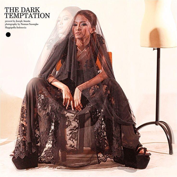 the Dark Temptation // models by Helda // fashion designer by Joseph Ananta