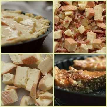 Munster Cheese Quiche Recipe