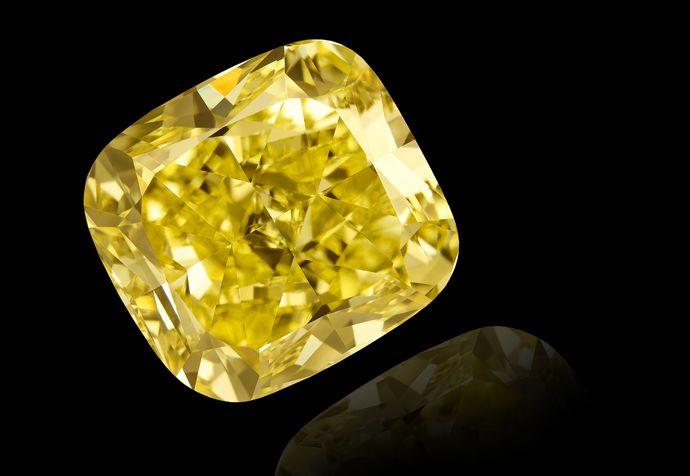 canary yellow diamond by Leibish & Co.