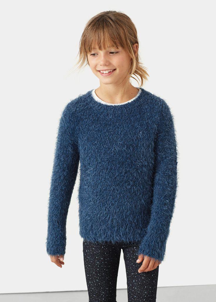 Hårete genser