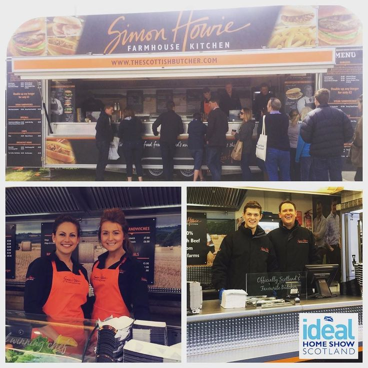 Really looking forward to attending the Ideal Home Show Scotland. Starts Friday and runs till Sunday at the SECC Glasgow. Come visit us get something incredible to eat and meet the Howie family! #idealhomeshow #scotland #secc #simonhowie #family #familybusiness #foodtrailer #delicious #burgers #steaksandwich and more. Don't eat anywhere else! #butchersson #butchersdaughter #thescottishbutcher #business by simonhowiebutcher