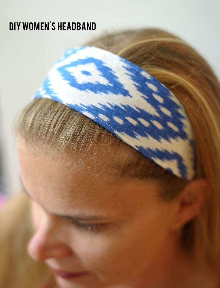 DIY fabric headband tutorial // aliceandlois.com