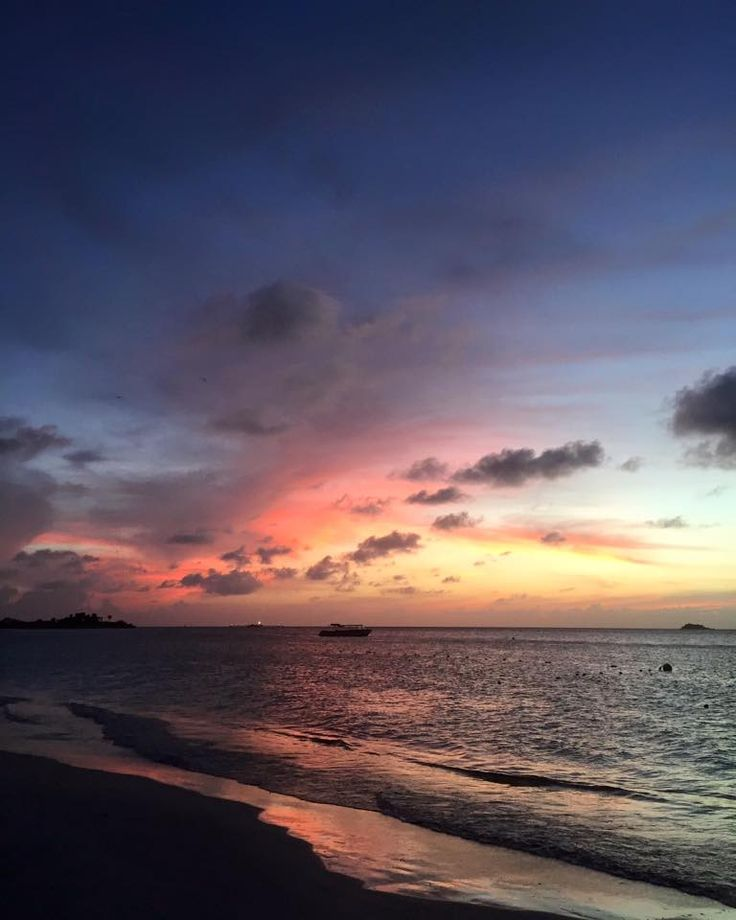 Antigua has the most beautiful sunsets I've ever seen. #Antigua #Sandals #Travel