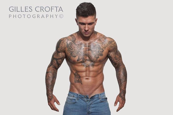 Photography by Gilles Crofta | The male physique
