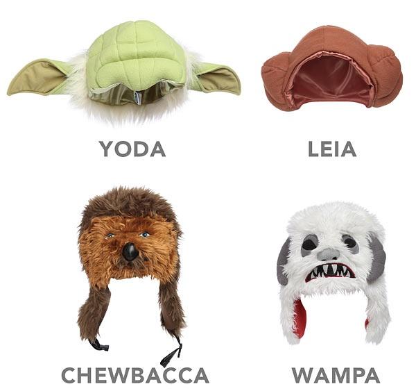 Star Wars Plush Character HatsThinkgeek