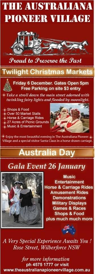 #Twilight #Christmas #Markets and #Australia #Day