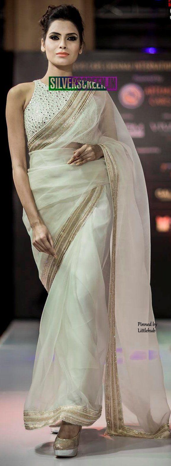 Six yard- The Saree ❤•。*゚  An elegant saree.