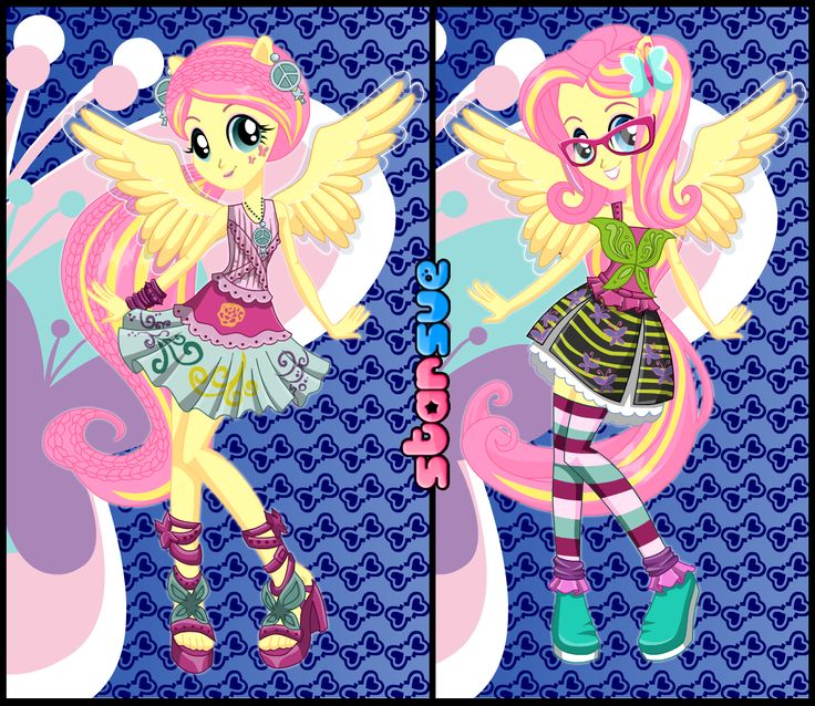 My Little Pony Equestria Girls Rainbow Rocks Fluttershy Rocking Hairstyle Dress Up Game Http
