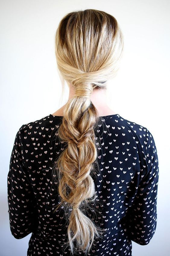 Braid with a twist hairstyle   #Cowgirl #Hairstyle #CowgirlHairstyle   http://www.islandcowgirl.com/