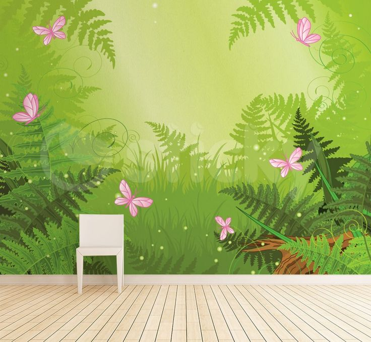 Wallpaper Sticker DEEP FOREST by Sticky!!!