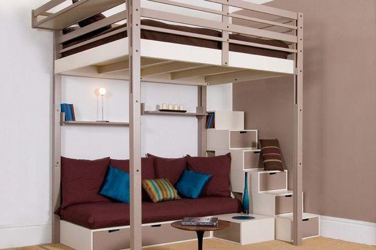 best 25 lit mezzanine ideas on pinterest mezzanine scandinavian kids beds and mezzanine bed. Black Bedroom Furniture Sets. Home Design Ideas