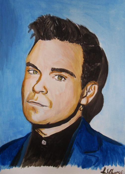 Robbie Williams by Lindasart