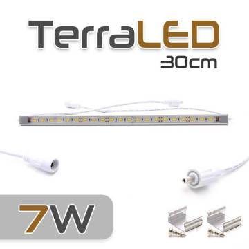 Réglette de LED 7W - 30cm de long - 12V - 6500°K
