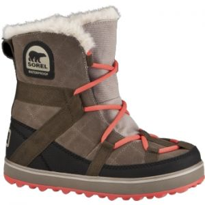 SOREL GLACY EXPLORER SHORTY WINTER BOOTS WOMENS  The Glacy(TM) collection is inspired by the energy of the action sports industry; and the easy comfort of apres styling. #womenwinterboots