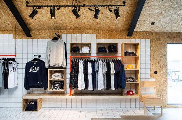 SUIT Store Reykjavík by HAF Studio in interior design  Category