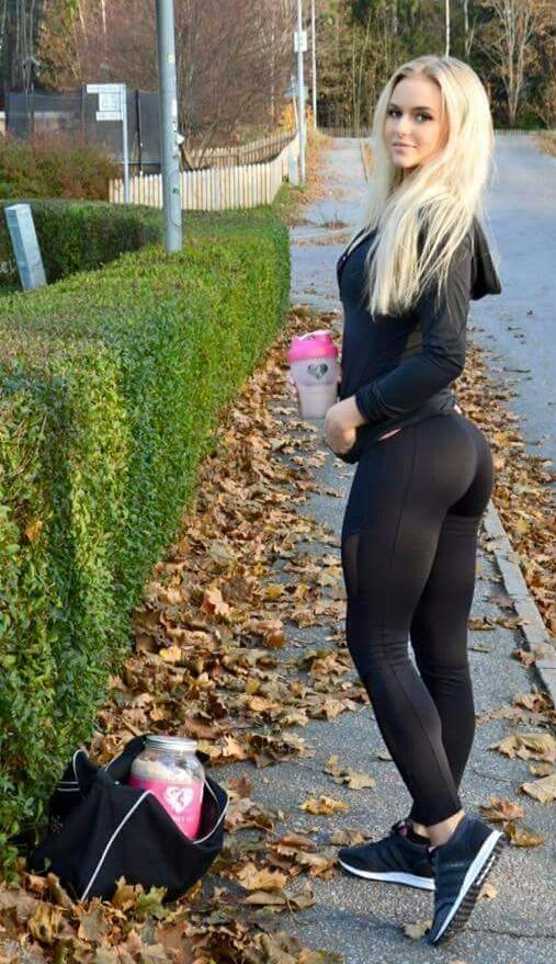 Anna Nystrom Black Leggins Black Yoga Pants  Thecrossfit  Fit Women, Fitness Motivation Y Fitness-7679