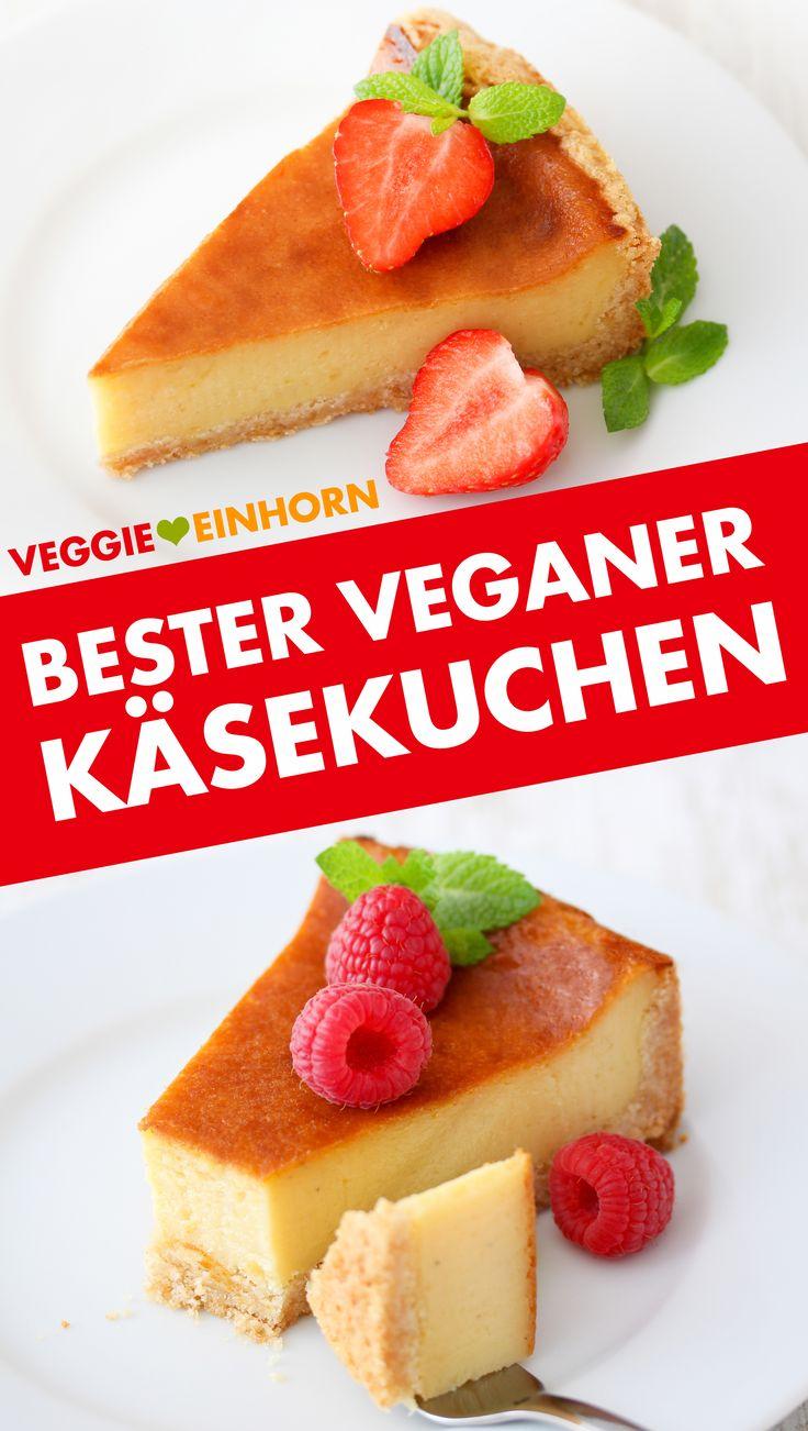 Der beste vegane Käsekuchen ▶ Einfaches Rezept, das immer Erfolg hat ▶ Alle Gäste lieben diesen Kuchen