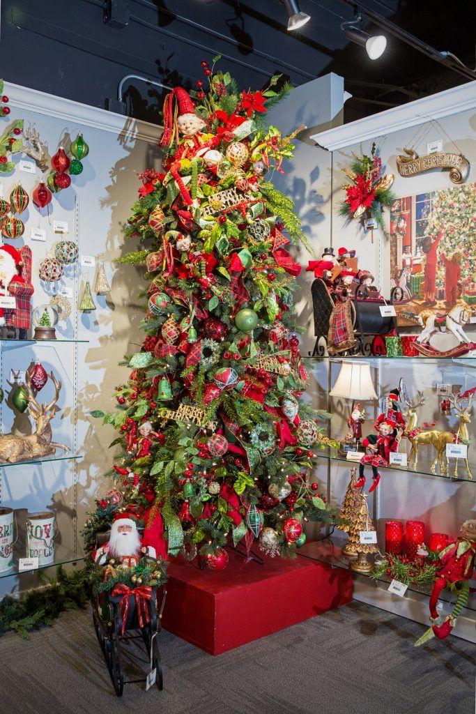 Ideas De Decoracion De Arbol De Navidad 2018 2019 Con Imagenes