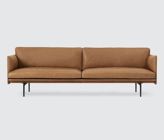 Outline Sofa | 3-seater by Muuto | Lounge sofas