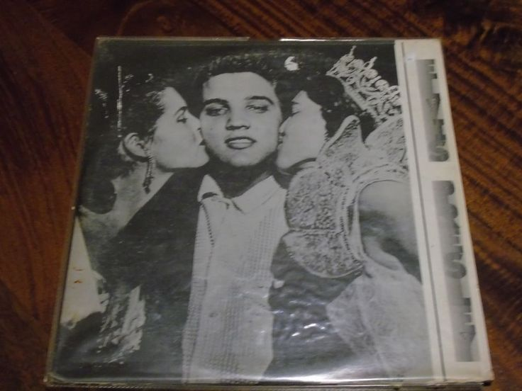 ULTRA RARE ELVIS DOUBLE LP TROUBLE BOUND .WHITE LABEL . in Music, Records, Albums/ LPs | eBay