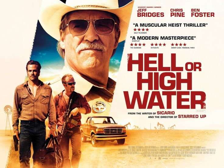 Hell or High Water, festival, film, movie, recommendations of the day, review, David Mackenzie, Jeff Bridges, Chris Pine, Ben Foster, Gil Birmingham