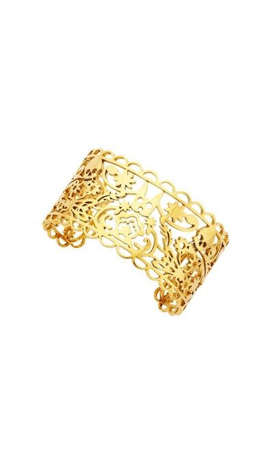 Medium Filigree Cuff Gold $9969