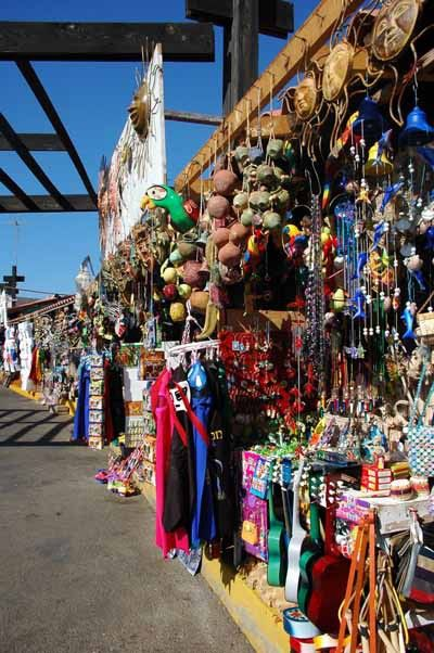 colorful markets Tijuana Mexico
