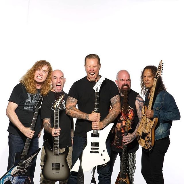So Many Legends In One Place Can You Name All Of Them Rock Hardrock Metal Heavymetal Metallica Megad Heavy Metal Music Thrash Metal Alternative Rock