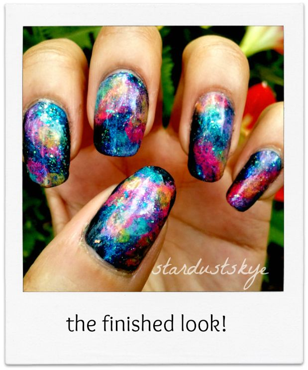 Galaxy Nail Polish Design: 17 Best Images About Nail Polish, Art & Design On
