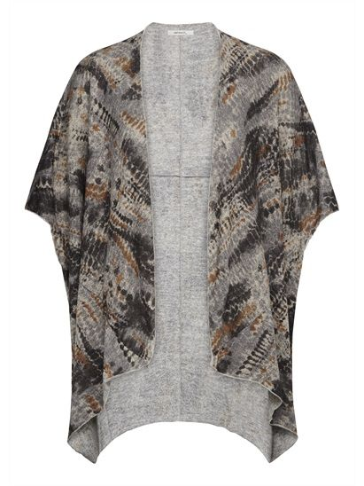 Wide open cardigan from Sandwich winter collection 2015.
