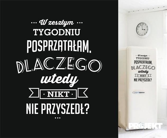 naklejki napisy cytaty na ścianę