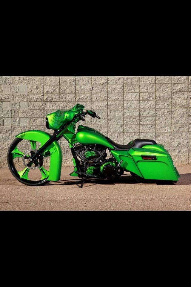 Nice Bagger not my color but nice