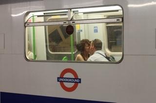 Tube love. London