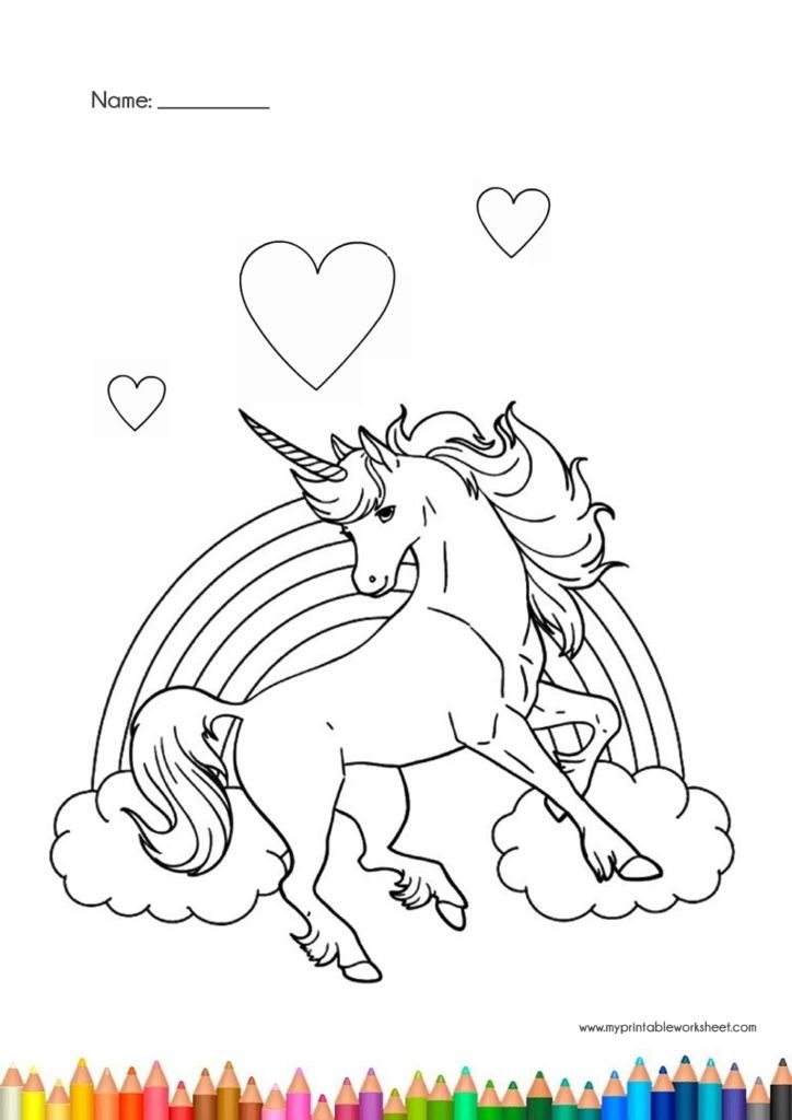 Easy Printable Unicorn Coloring Pages In 2021 Unicorn Coloring Pages Coloring Pages Coloring Pages For Kids