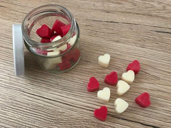 Jar of Hearts Wax Melts Heart Wax Melts Scented Soy Wax