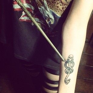 42 Insanely Magical Harry Potter Tattoos Some of these aren't new - but others are really creativ, cute and amazing
