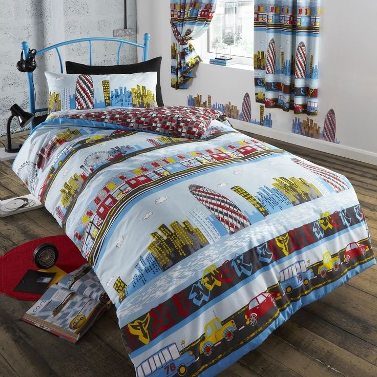 Inner City Duvet Cover Set Our Capital Is Brought To Life With This Fantastic