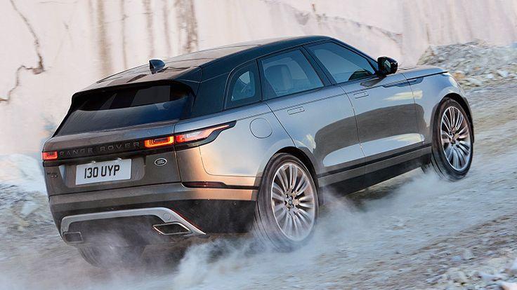 Range Rover Velar 2018. Imágenes exteriores.