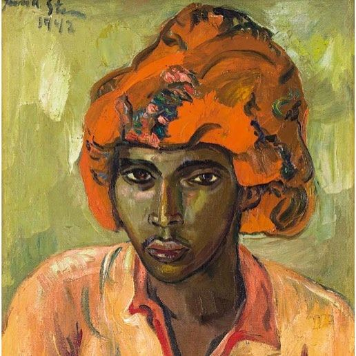 I got my eye on you: Irma Stern 'Young Arab', 1942 currently on sale with the Strauss & Co auction house, Cape Town as part of the Important South African Art auction  #wishlist #irmastern #southafricanart