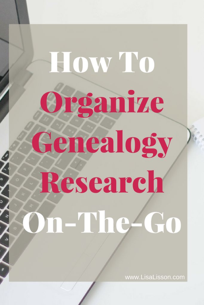 how to best organise study information