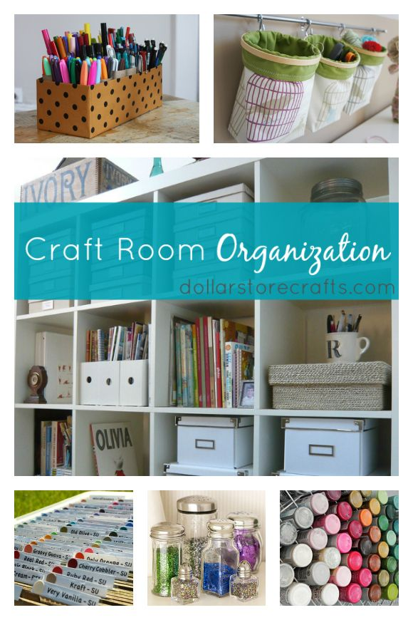 10 Craft Room Organization Ideas