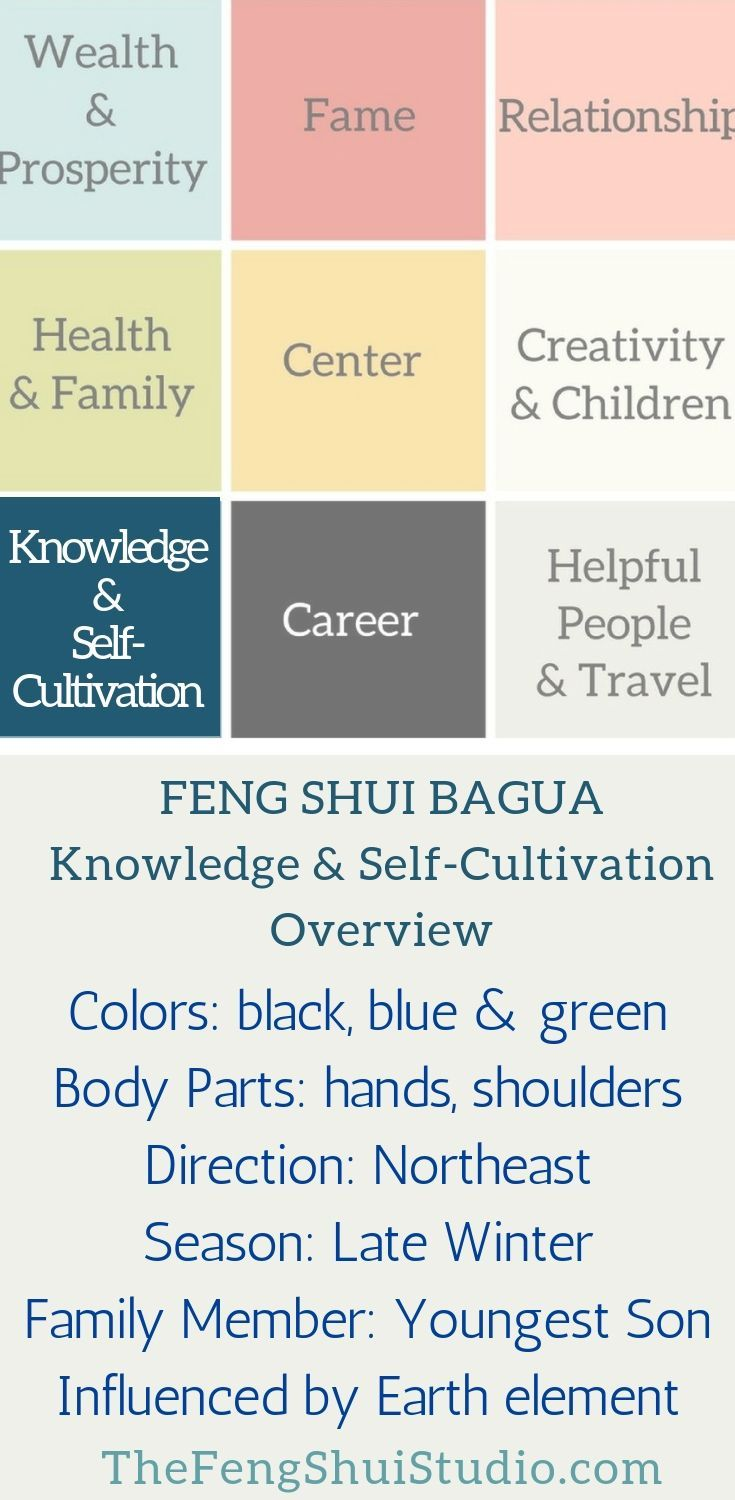 The Feng Shui Bagua For Knowledge Self Cultivation How To