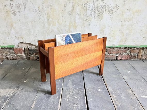 Vintage Teak Magazine Rack By Guy Rogers For Heals Of London Teak Furniture Teak Teak Oil