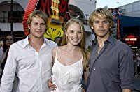 Rachel Nichols, Eric Christian Olsen, and Derek Richardson at an event for Dumb and Dumberer: When Harry Met Lloyd (2003)