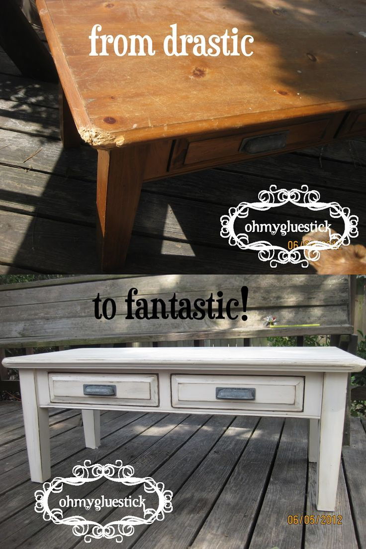 121 best coffee table images on pinterest coffee tables shabby chic coffee table paint job geotapseo Images